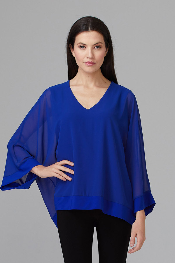 Joseph Ribkoff Chemises et blouses Saphir Royal 163 Style 201086