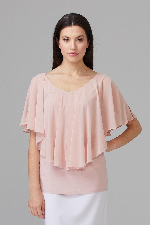 Joseph Ribkoff Rose Shirts & Blouses Style 201158