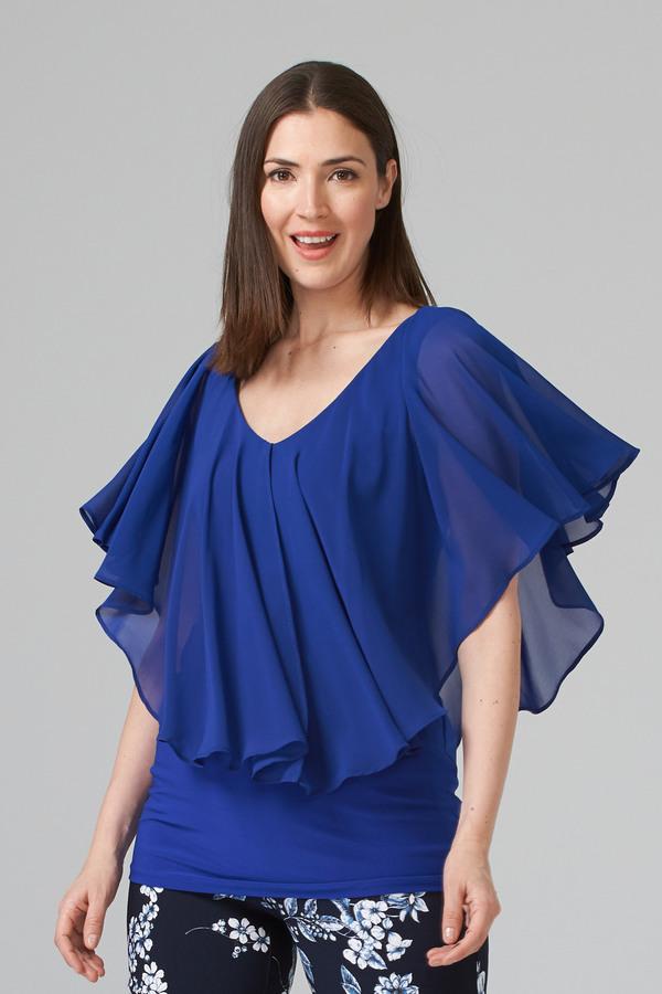 Joseph Ribkoff Royal Sapphire 163 Shirts & Blouses Style 201158
