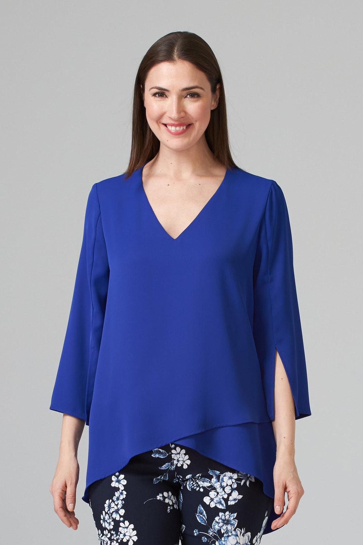 Joseph Ribkoff Royal Sapphire 163 Shirts & Blouses Style 201085