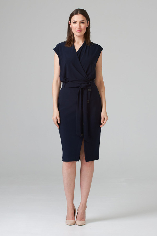 Joseph Ribkoff Midnight Blue 40 Skirts Style 201137