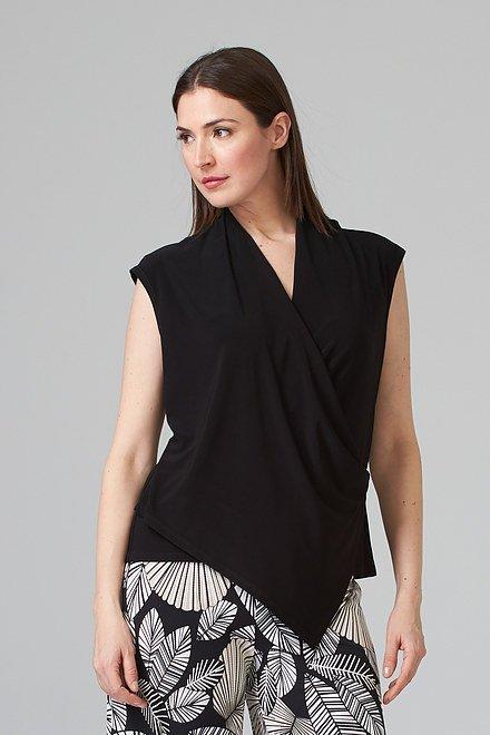 Joseph Ribkoff Black Shirts & Blouses Style 202245