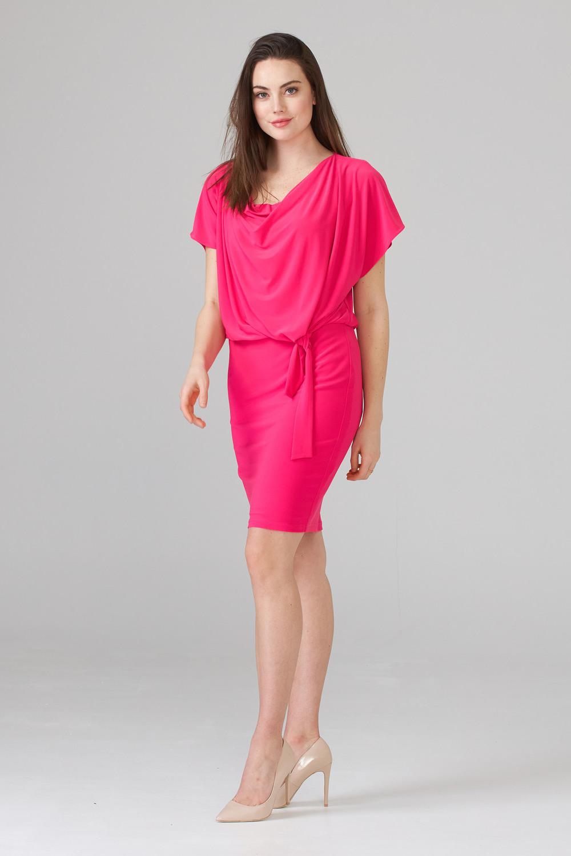Joseph Ribkoff HYPER PINK Dresses Style 201147
