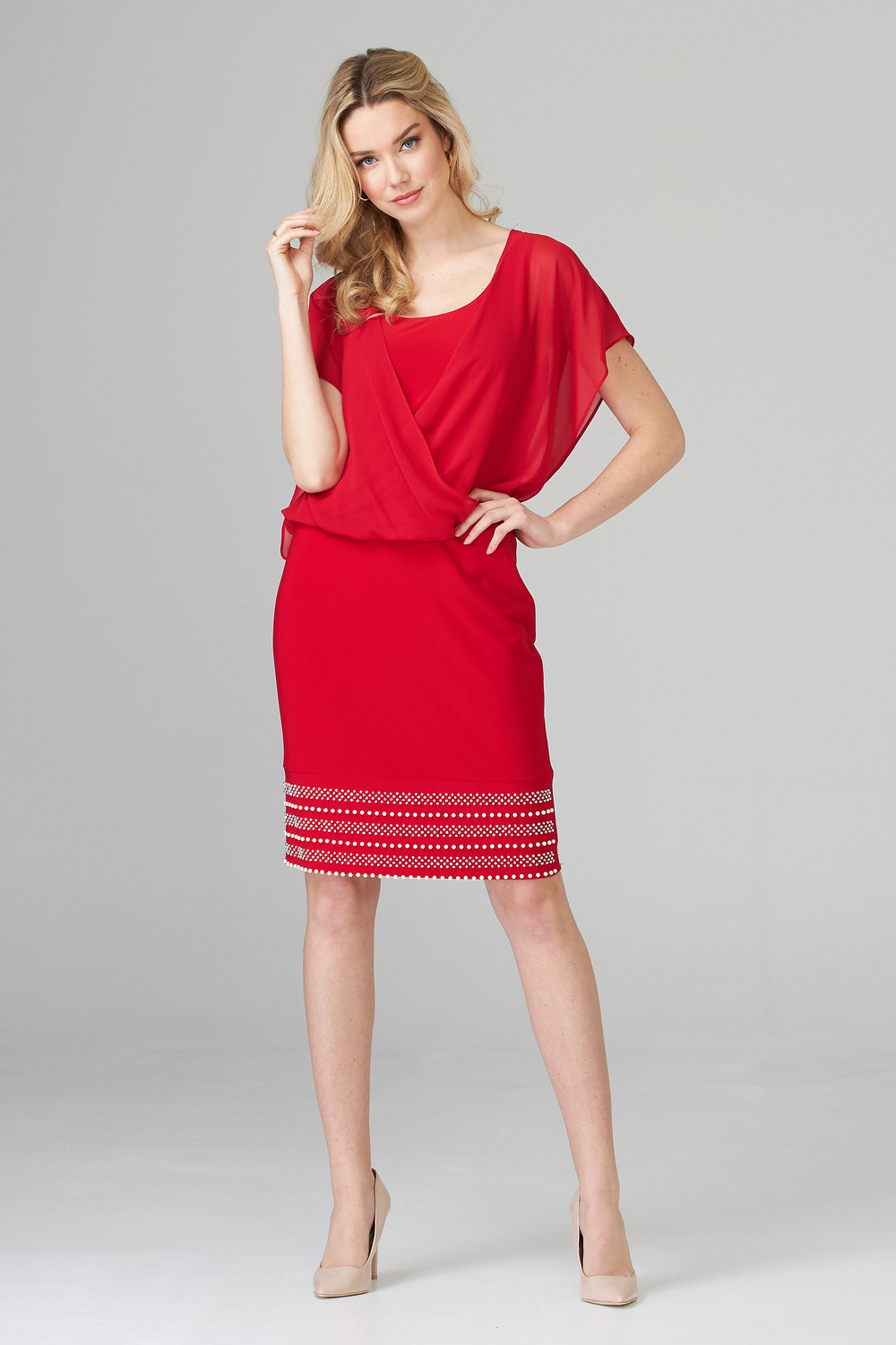 Joseph Ribkoff Robes Rouge A Levres 173 Style 201166