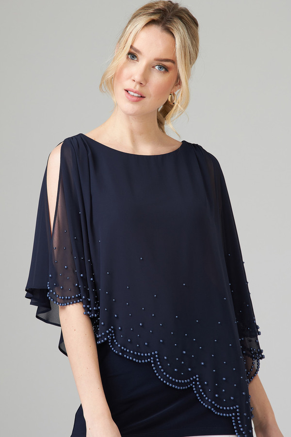 Joseph Ribkoff Chemises et blouses Bleu Minuit 40 Style 202362