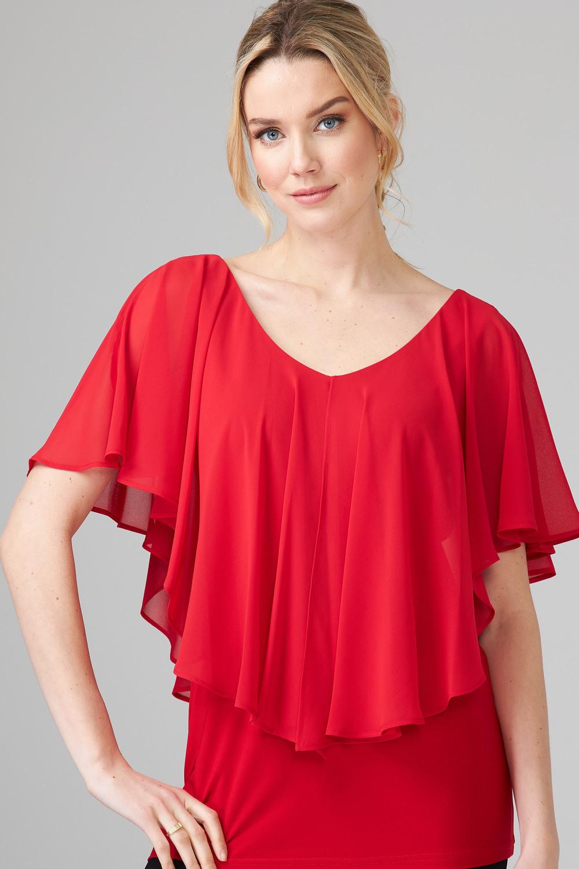 Joseph Ribkoff Chemises et blouses Rouge A Levres 173 Style 201158