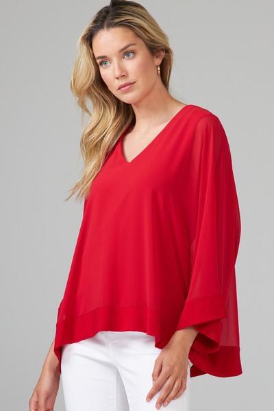 Joseph Ribkoff Chemises et blouses Rouge A Levres 173 Style 201086