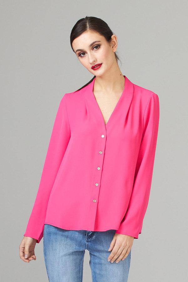 Joseph Ribkoff HYPER PINK Shirts & Blouses Style 194419