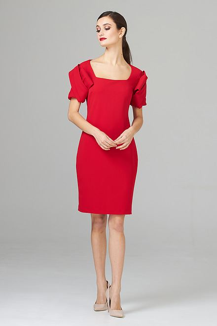 Joseph Ribkoff Lipstick Red 173 Dresses Style 201228