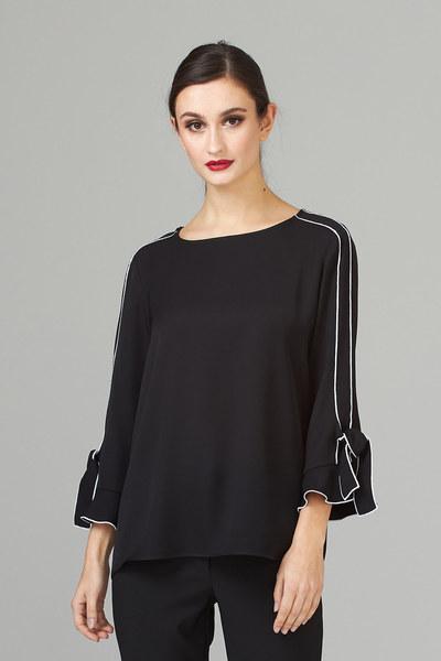 Joseph Ribkoff Black Shirts & Blouses Style 201088