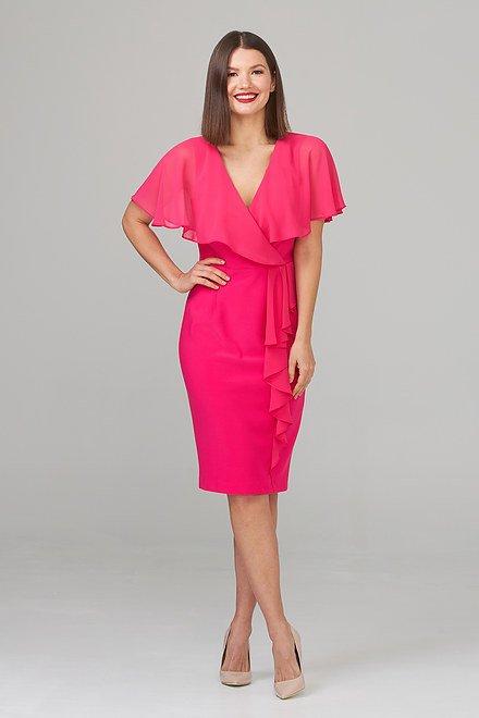 Joseph Ribkoff HYPER PINK Dresses Style 201072