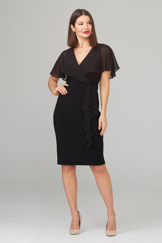 Joseph Ribkoff Robes Noir Style 201072