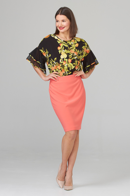 Joseph Ribkoff Cantaloupe Skirts Style 153071