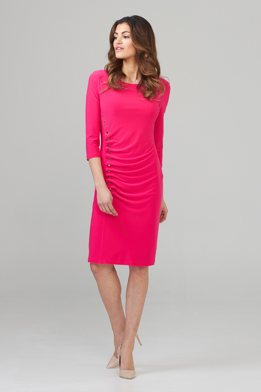 Joseph Ribkoff Robes Rose Vif Style 201140