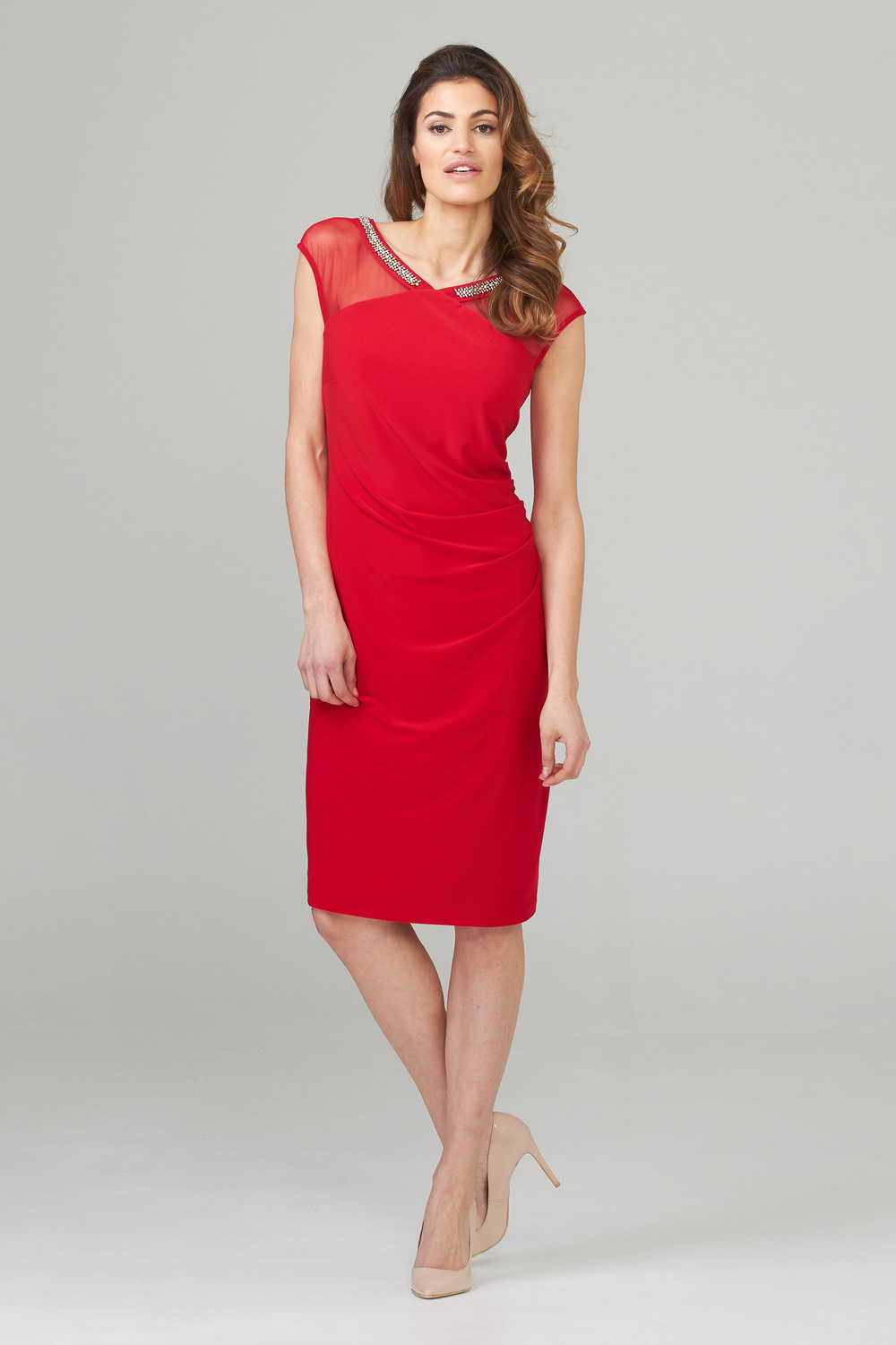 Joseph Ribkoff Robes Rouge A Levres 173 Style 201004
