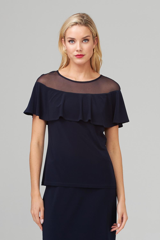 Joseph Ribkoff Midnight Blue 40 Tees & Camis Style 202113