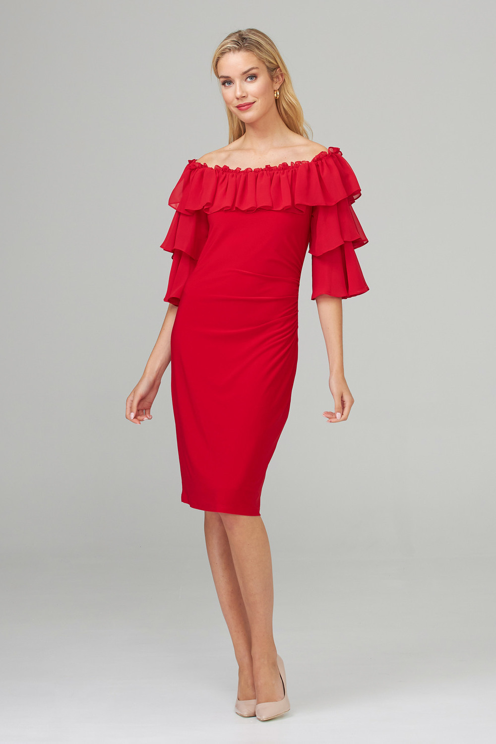 Joseph Ribkoff Robes Rouge A Levres 173 Style 201002
