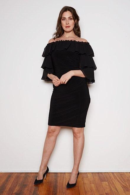 Joseph Ribkoff Robes Noir Style 201002