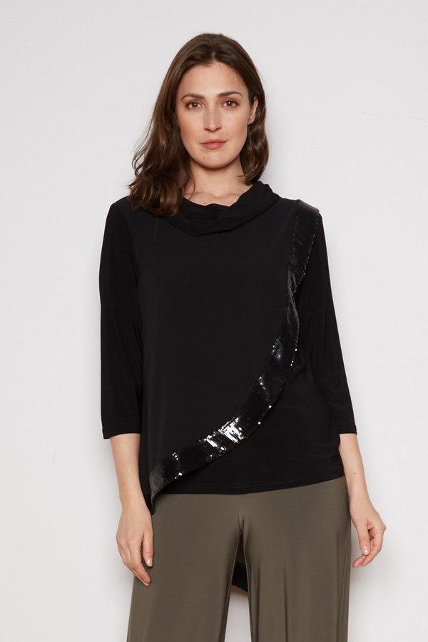 Joseph Ribkoff Tuniques Noir Style 201125