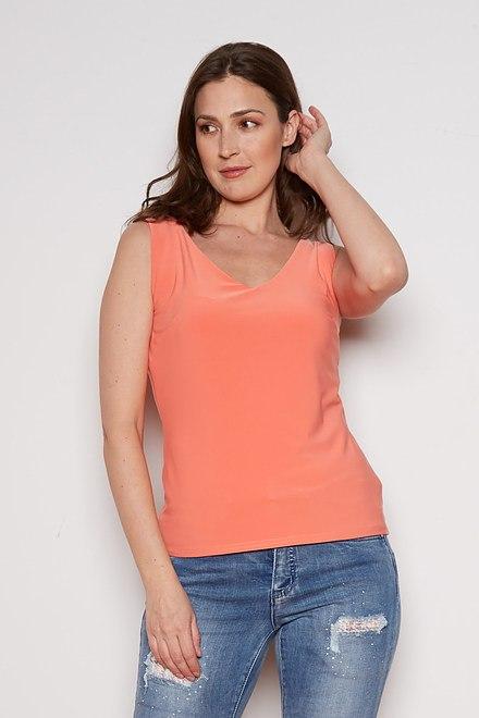 Joseph Ribkoff Tee-shirts et camisoles Cantaloupe Style 201546