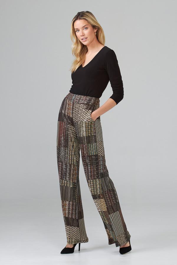 Joseph Ribkoff Pantalons Noir/Multi Style 203696