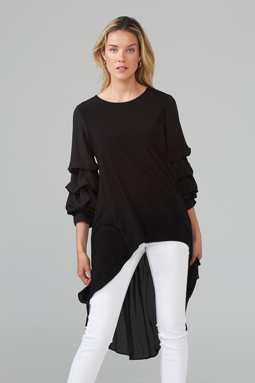 Joseph Ribkoff Black Tunics Style 203016