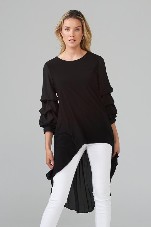 Joseph Ribkoff Tunic Style 203016. Black