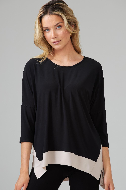 Joseph Ribkoff Chemises et blouses Noir/Sable Style 203448