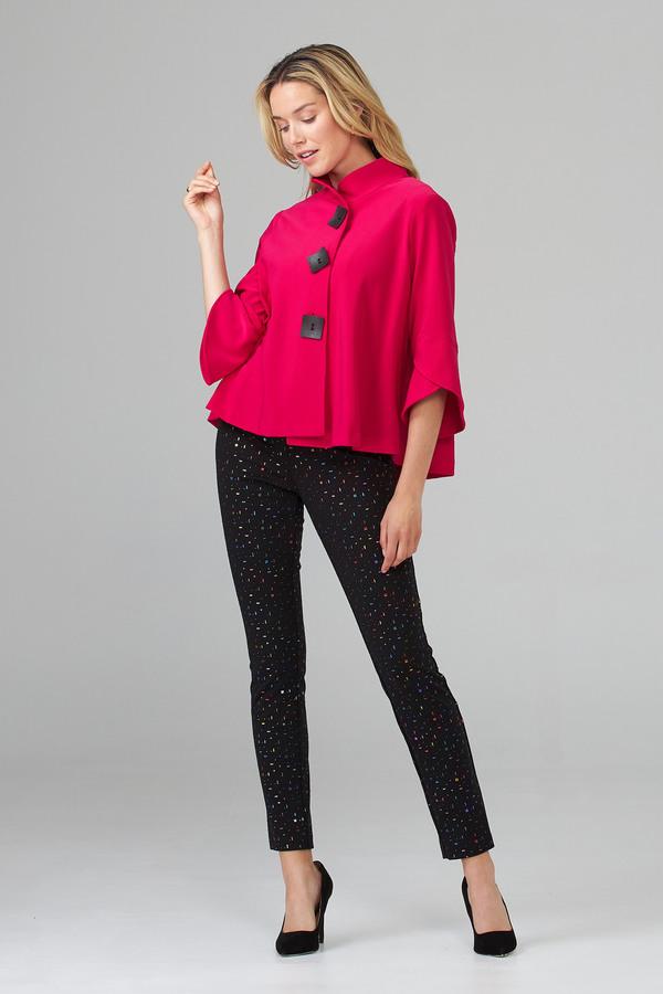 Joseph Ribkoff Pant Style 203392. Black/Multi