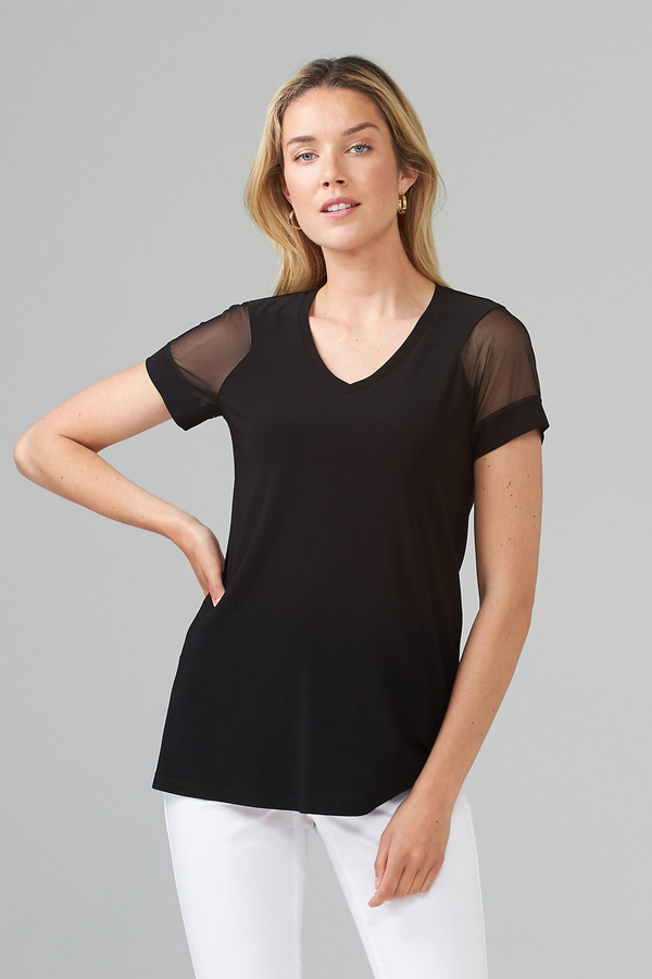 Joseph Ribkoff Black Tees & Camis Style 203260