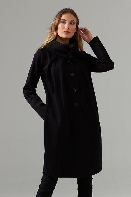 Joseph Ribkoff Black Outerwear Style 203008