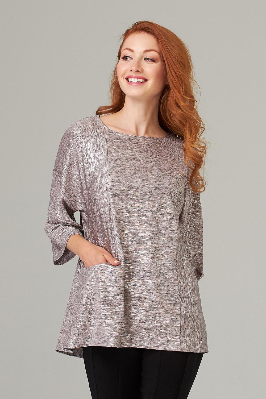 Joseph Ribkoff Pink/Silver Tunics Style 203092