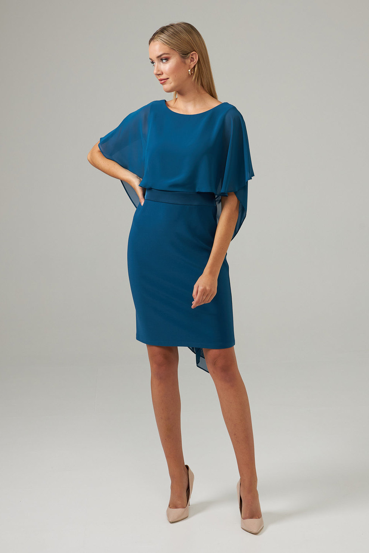Joseph Ribkoff Peacock Dresses Style 203126