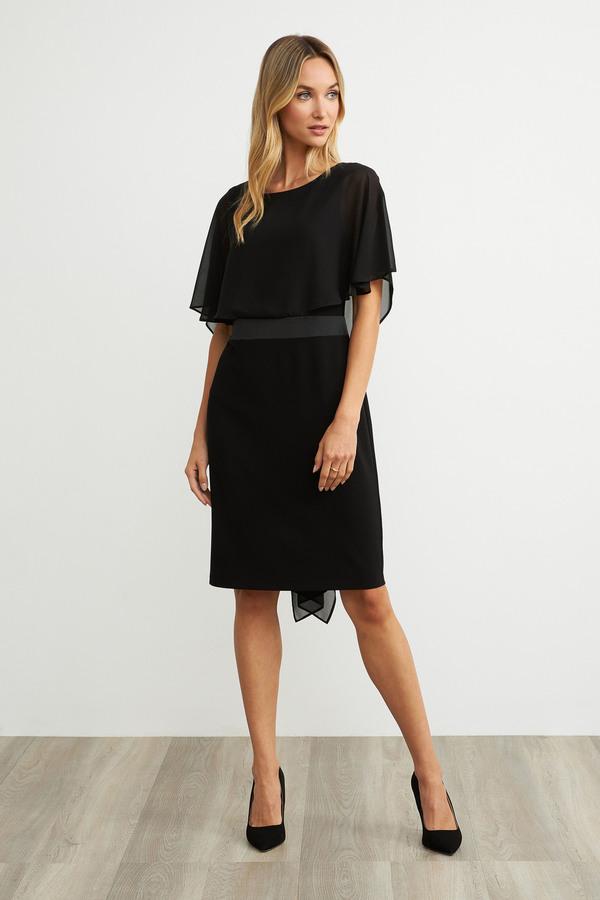 Joseph Ribkoff Black Dresses Style 203126