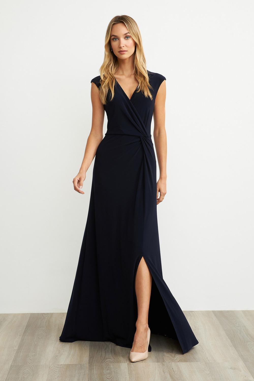 Joseph Ribkoff Robes Bleu Nuit Style 203195