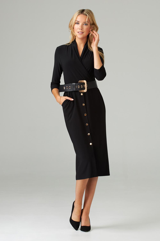 Joseph Ribkoff Black Dresses Style 203202
