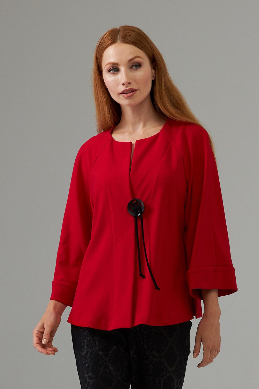 Joseph Ribkoff Lipstick Red/Black Jackets Style 203219
