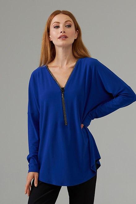 Joseph Ribkoff Royal Sapphire 163 Shirts & Blouses Style 203230