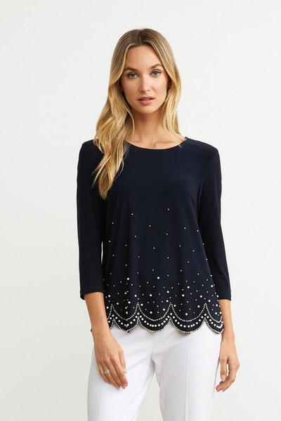 Joseph Ribkoff Chemises et blouses Bleu Minuit 40 Style 203247