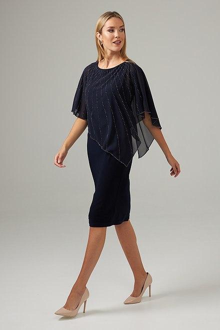 Joseph Ribkoff Robes Bleu Nuit Style 203248