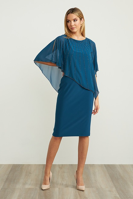 Joseph Ribkoff Peacock Dresses Style 203248