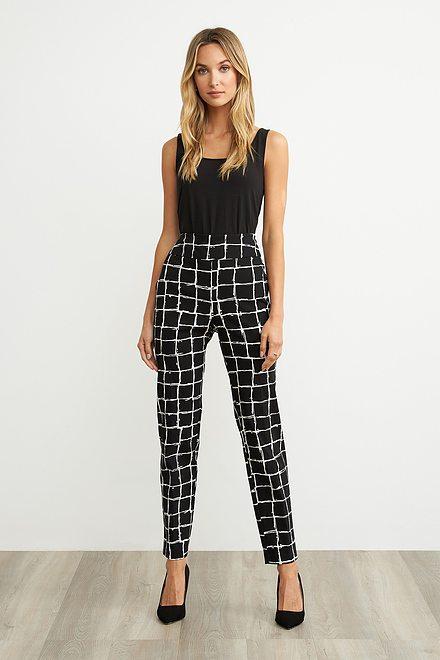 Joseph Ribkoff Black/White Pants Style 203274