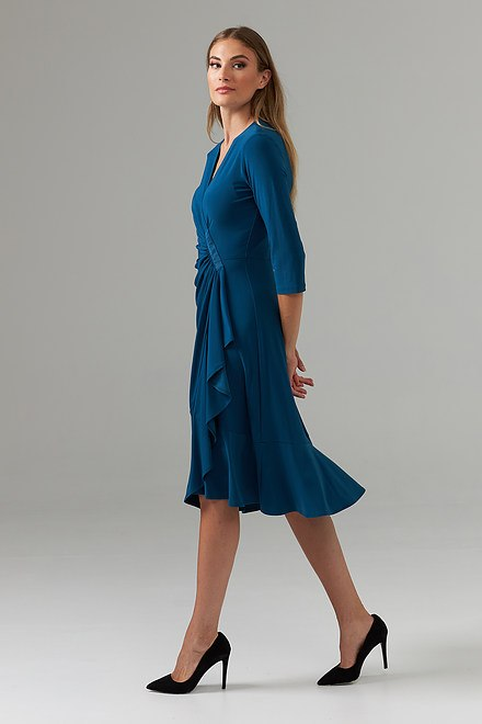 Joseph Ribkoff Peacock Dresses Style 203276