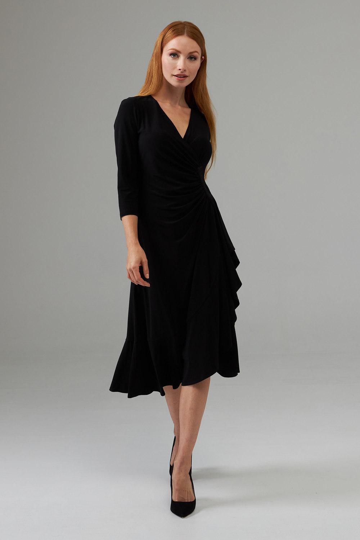 Joseph Ribkoff Black Dresses Style 203276