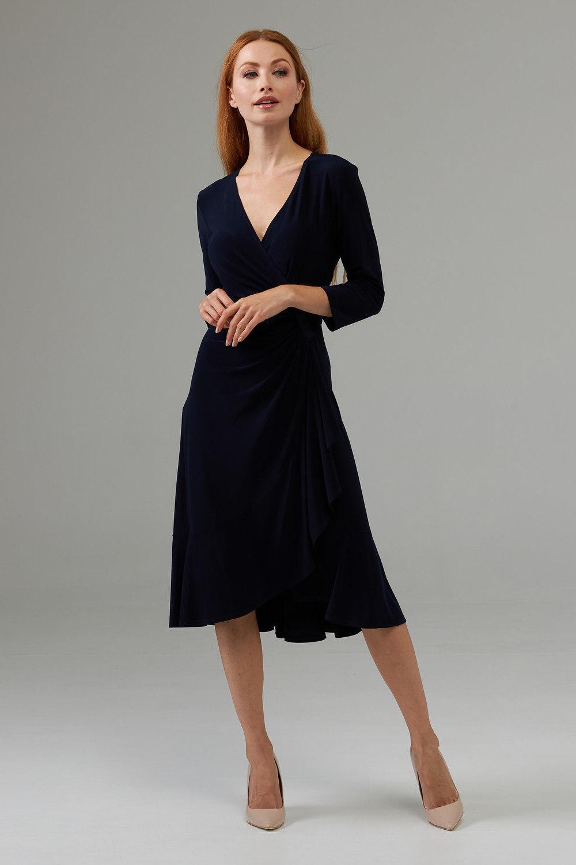 Joseph Ribkoff Robes Bleu Minuit 40 Style 203276