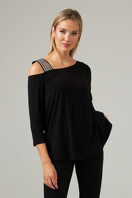 Joseph Ribkoff Black Tunics Style 203302
