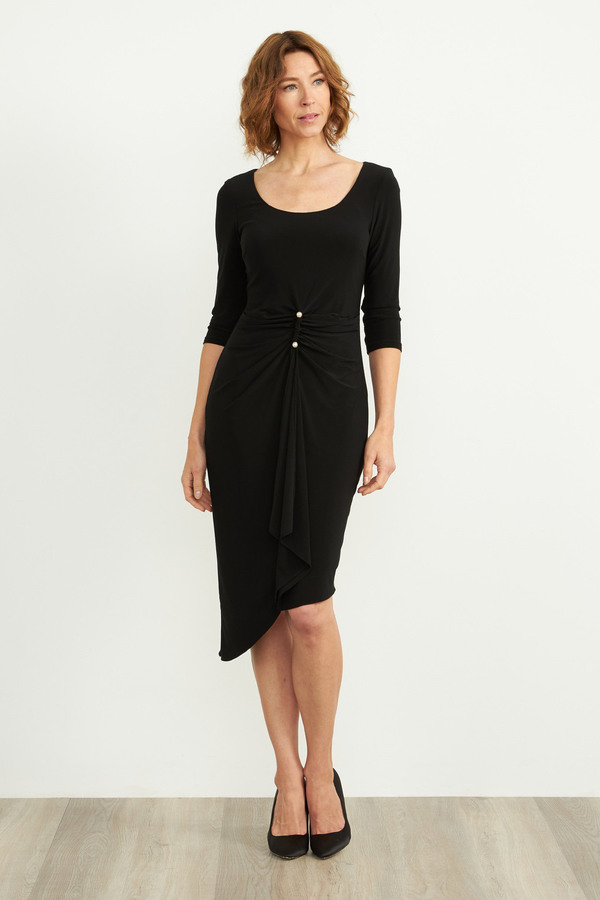 Joseph Ribkoff Robes Noir Style 203338