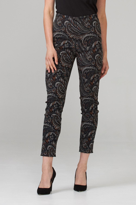 Joseph Ribkoff Pantalons Noir/Multi Style 203341