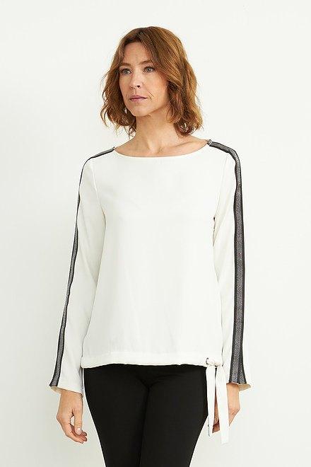 Joseph Ribkoff Vanilla 30 Shirts & Blouses Style 203346
