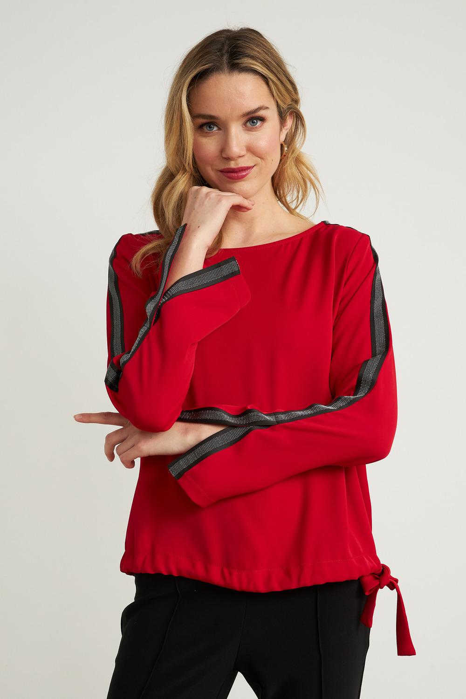 Joseph Ribkoff Chemises et blouses Rouge A Levres 173 Style 203346